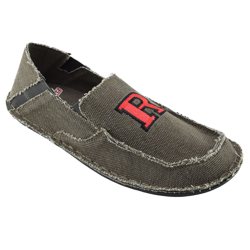 Men's Rutgers Scarlet Knights Cazulle Canvas Loafers