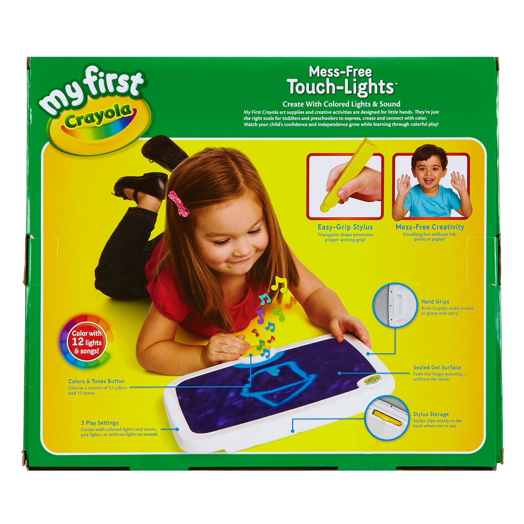 My First Crayola Mess-Free Touch Lights