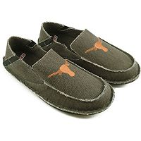 Men's Texas Longhorns Cazulle Canvas Loafers