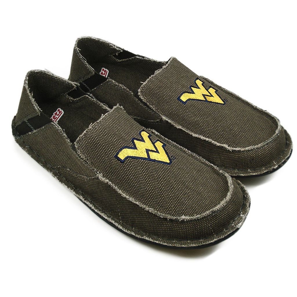 Men's West Virginia Mountaineers Cazulle Canvas Loafers