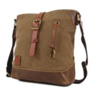 The Same Direction Red Wood Crossbody Bag