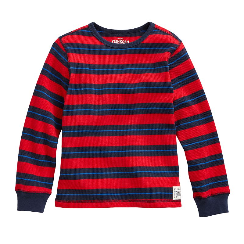 OshKosh B'gosh Striped Thermal Shirt - Boys 4-7x