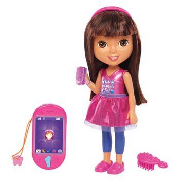 Dora & Friends Talking Dora & Smartphone by Fisher-Price