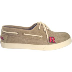 Men's Rutgers Scarlet Knights Captain Boat Shoes