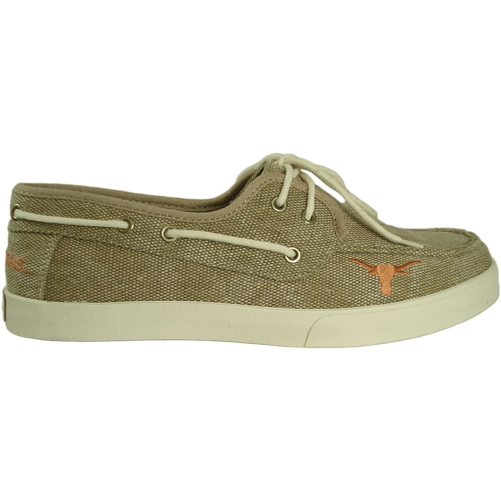Men's Texas Longhorns Captain Boat Shoes