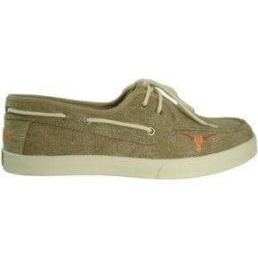 Men's Texas Longhorns Captain Boat Shoes