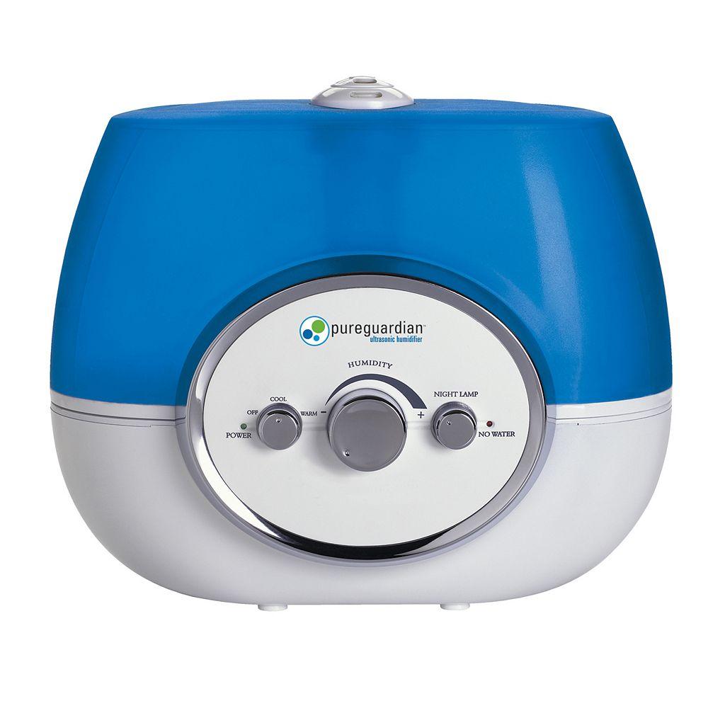 pureguardian Ultrasonic 100-Hour Warm & Cool Mist Humidifier