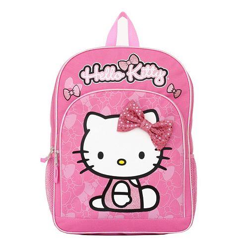 Hello Kitty Glitter Bow Lunch Bag