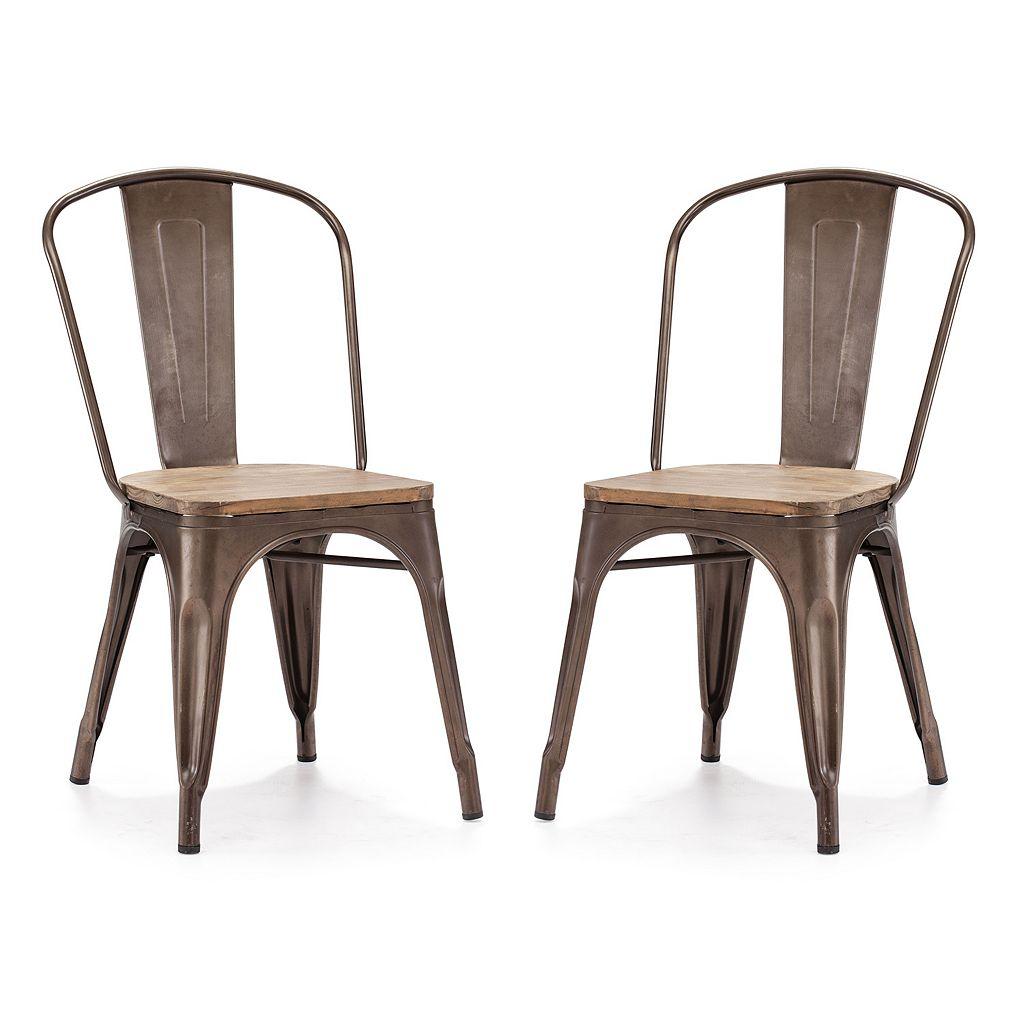 Zuo Modern 2-pc. Elio Chair Set