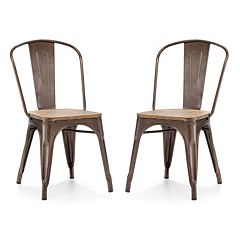Zuo Modern 2 pc Elio Chair Set