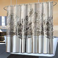 Splash Home Forest PEVA Shower Curtain
