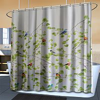 Splash Home Terrasse Fabric Shower Curtain
