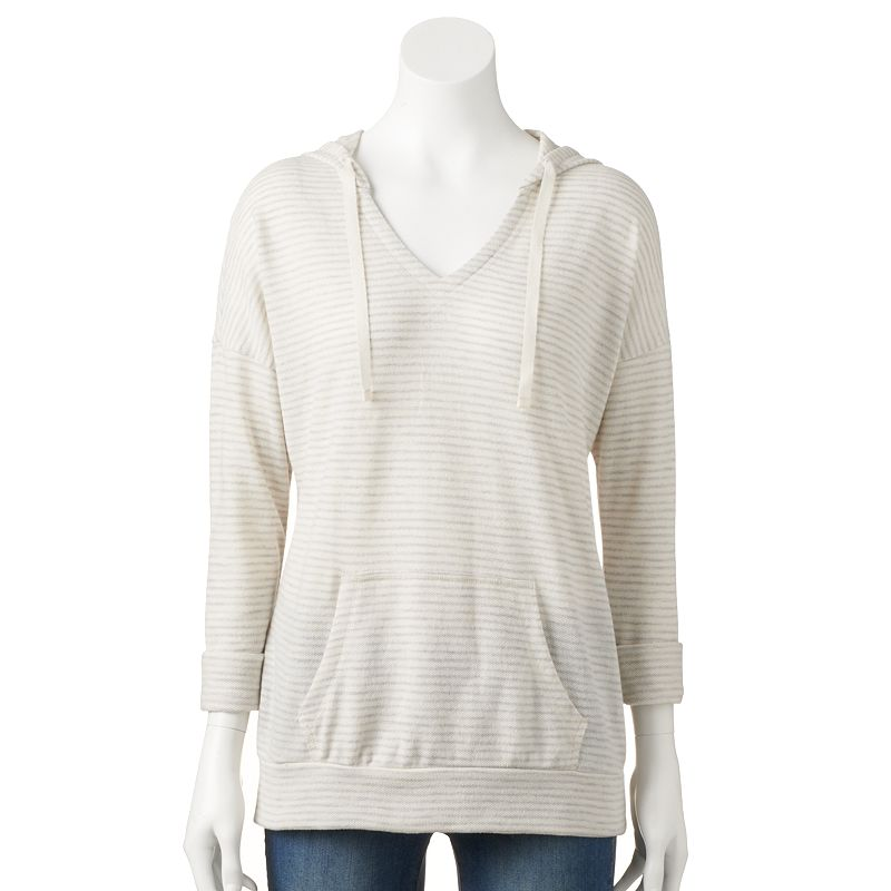 SONOMA life + style French Terry Hoodie - Petite