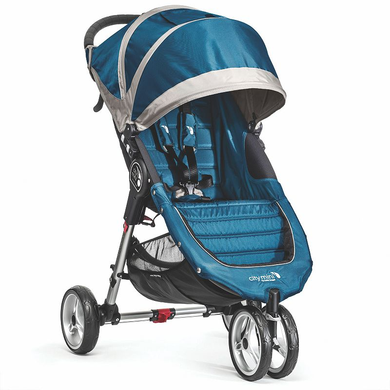 Baby Jogger City Mini Single Stroller, Turquoise/Blue (Turq/Aqua)