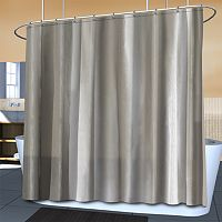 Splash Home Ella Waterproof Microfiber Fabric Shower Curtain Liner
