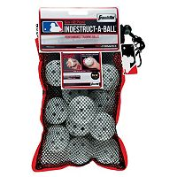 Franklin Sports MLB Indestruct-A-Ball 5-in. Micro Training Baseballs