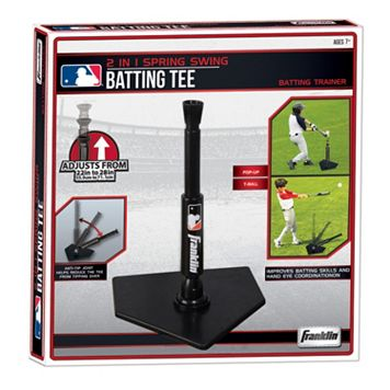 Franklin MLB 2-in-1 Spring Swing Batting Tee