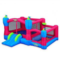 Blast Zone Inflatable Sidekick Castle Bounce House