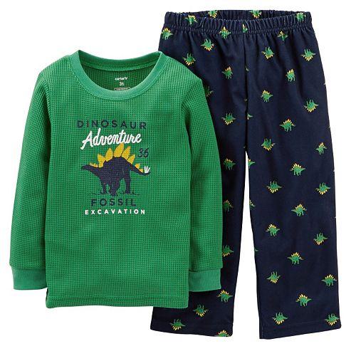 """Carter's """"Dinosaur Adventure"""" Triceratops Pajama Set - Baby"""