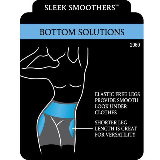 Maidenform Shapewear Sleek Smoothers Boyshorts 2060 - Women's