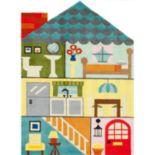Momeni Lil Mo Whimsy Dollhouse Rug - 2' x 3'