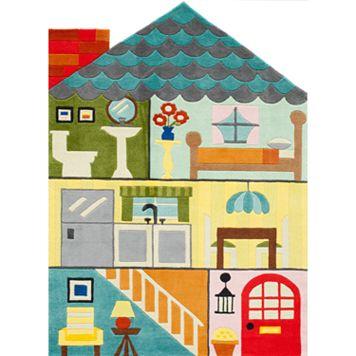 Momeni Lil Mo Whimsy Dollhouse Rug - 5' x 7'