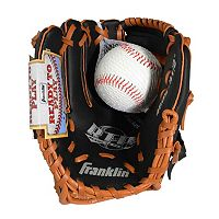 Franklin Sports 9.5 in Left Hand Throw T-Ball Glove & Ball Set - Youth