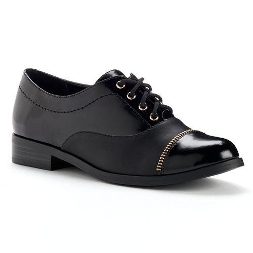Jennifer Lopez Cap Toe Oxford Shoes - Women