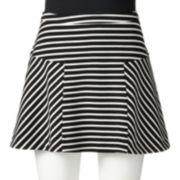 Candie's Striped Trumpet Skirt - Juniors