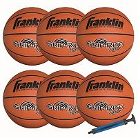 Franklin Sports Grip-Rite 100 Basketball Team Pack