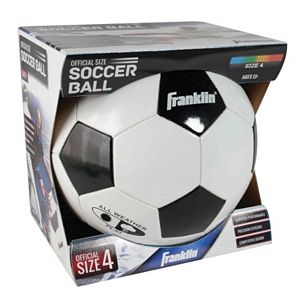 Franklin Size 4 Competition 100 Soccer Ball