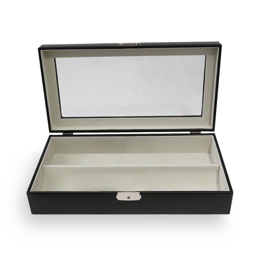 Bey-Berk Leather Eyeglass Box
