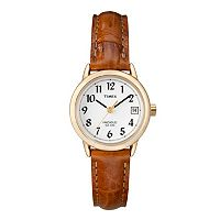 Timex Women's Easy Reader Leather Watch - T2J761KZ