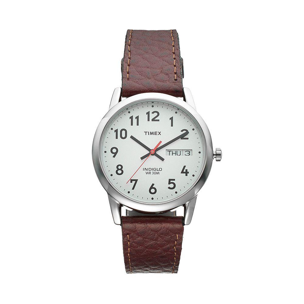 Timex® Men's Wardrobe Essentials Leather Watch - T20041JT