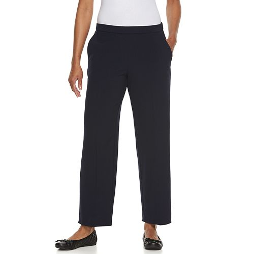 Petite Croft Amp Barrow 174 Solid Pull On Dress Pants
