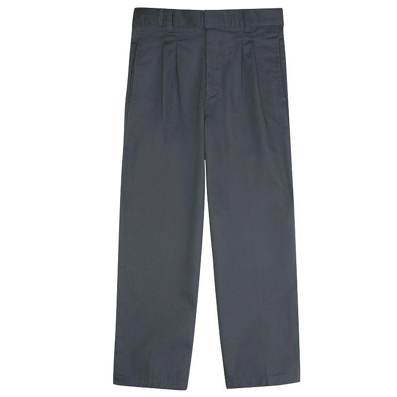 French Toast School Uniform Modern-Fit Adjustable-Waist Double-Knee Pleated Pants - Boys 8-20