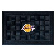 FANMATS Los Angeles Lakers Medallion Doormat - 19'' x 30''