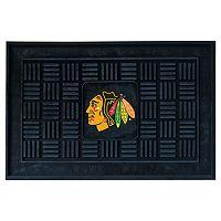 FANMATS Chicago Blackhawks Medallion Doormat - 19'' x 30''