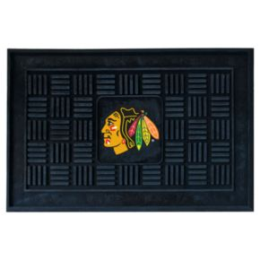 FANMATS Chicago Blackhawks Medallion Doormat - 19'' x 30''