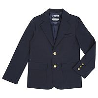 Boys 8-20 Husky French Toast School Uniform Solid Blazer