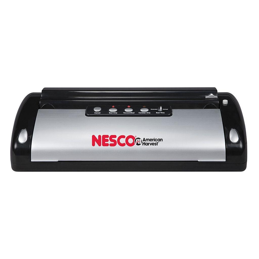 Nesco 110-Watt Vacuum Food Sealer with Bag Cutter