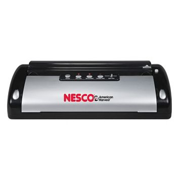 Nesco 110-Watt Vacuum Food Sealer with Bag Cutter