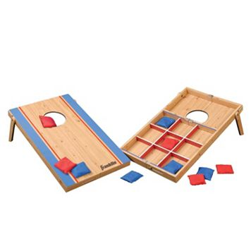 Franklin Sports Fold-N-Go Bean Bag Toss & Tic Tac Toe Set