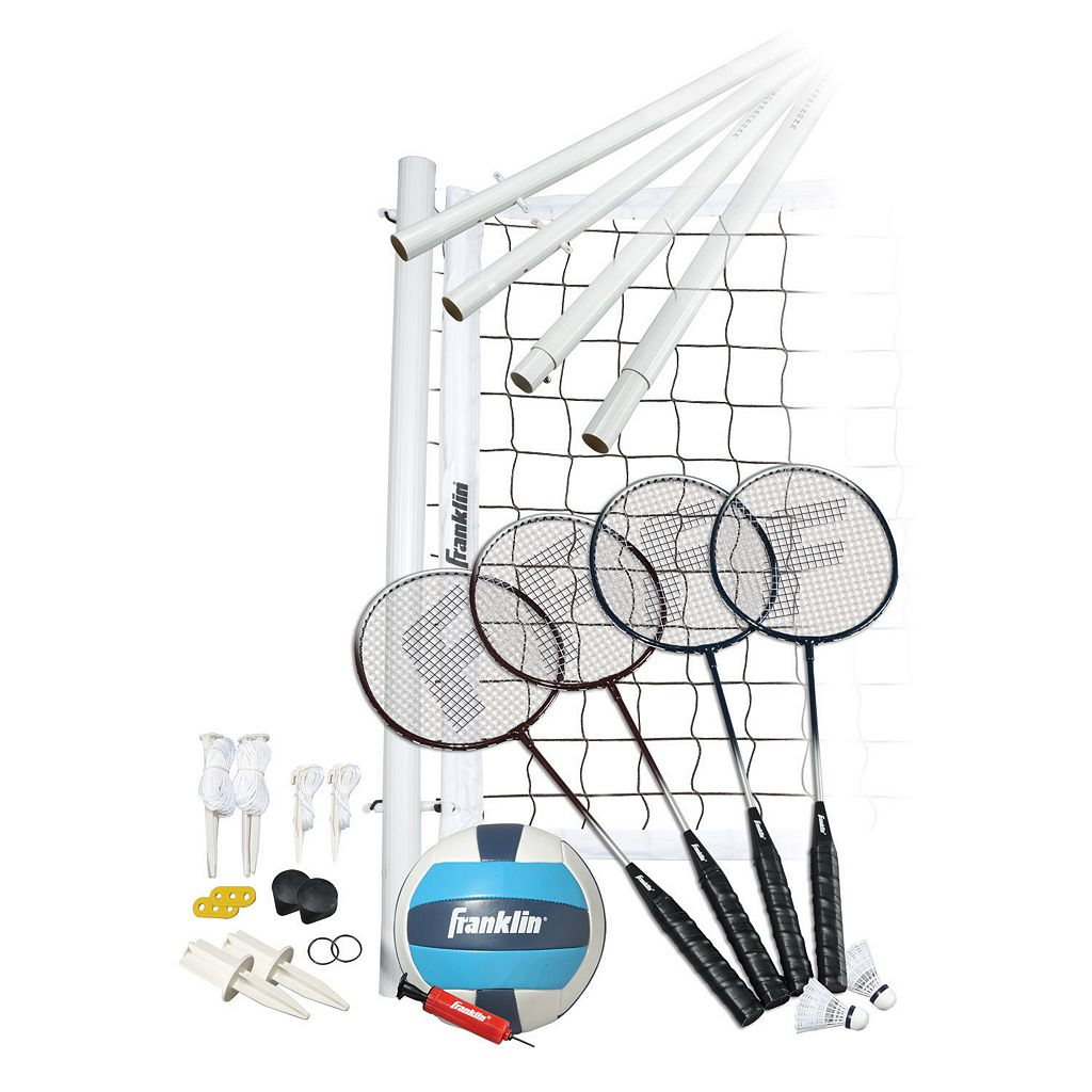 Franklin Advanced Volleyball & Badminton Set