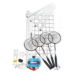 Franklin Sports Advanced Volleyball & Badminton Set