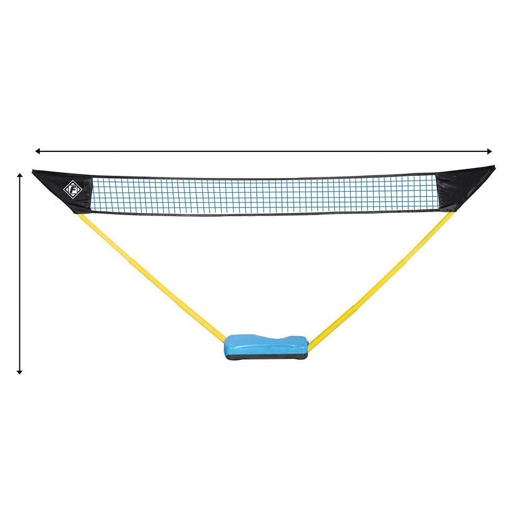 Franklin Sports Easy Set Up Volleyball and Badminton Combo Set