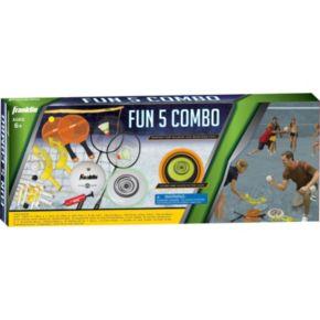 Franklin Sports Fun 5 Combo Game Set