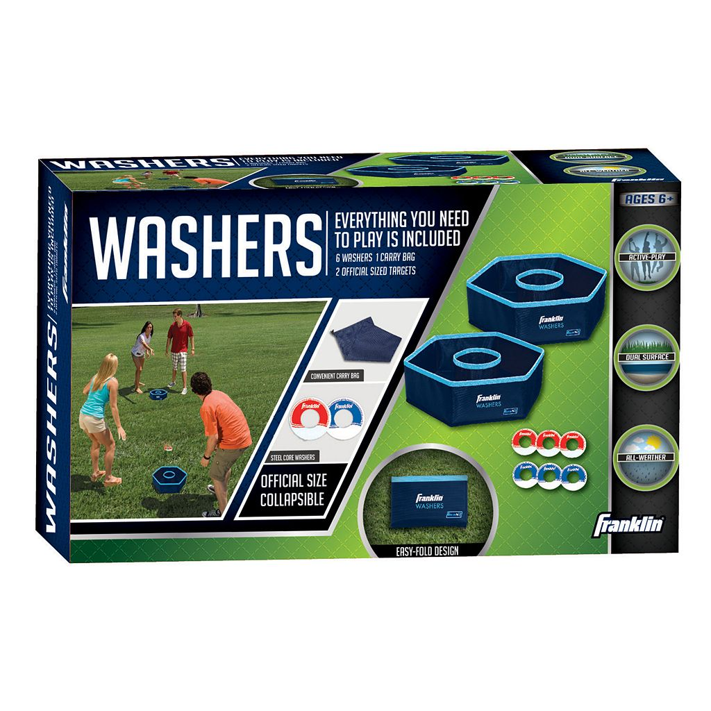 Franklin Sports Fold-N-Go Washers Set