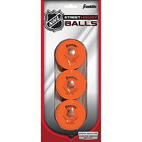 Franklin Sports NHL 3 pkHigh Density Street Hockey Balls