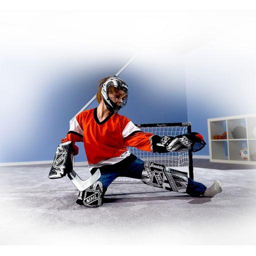 Franklin NHL Mini Hockey Goalie Equipment And Mask Set